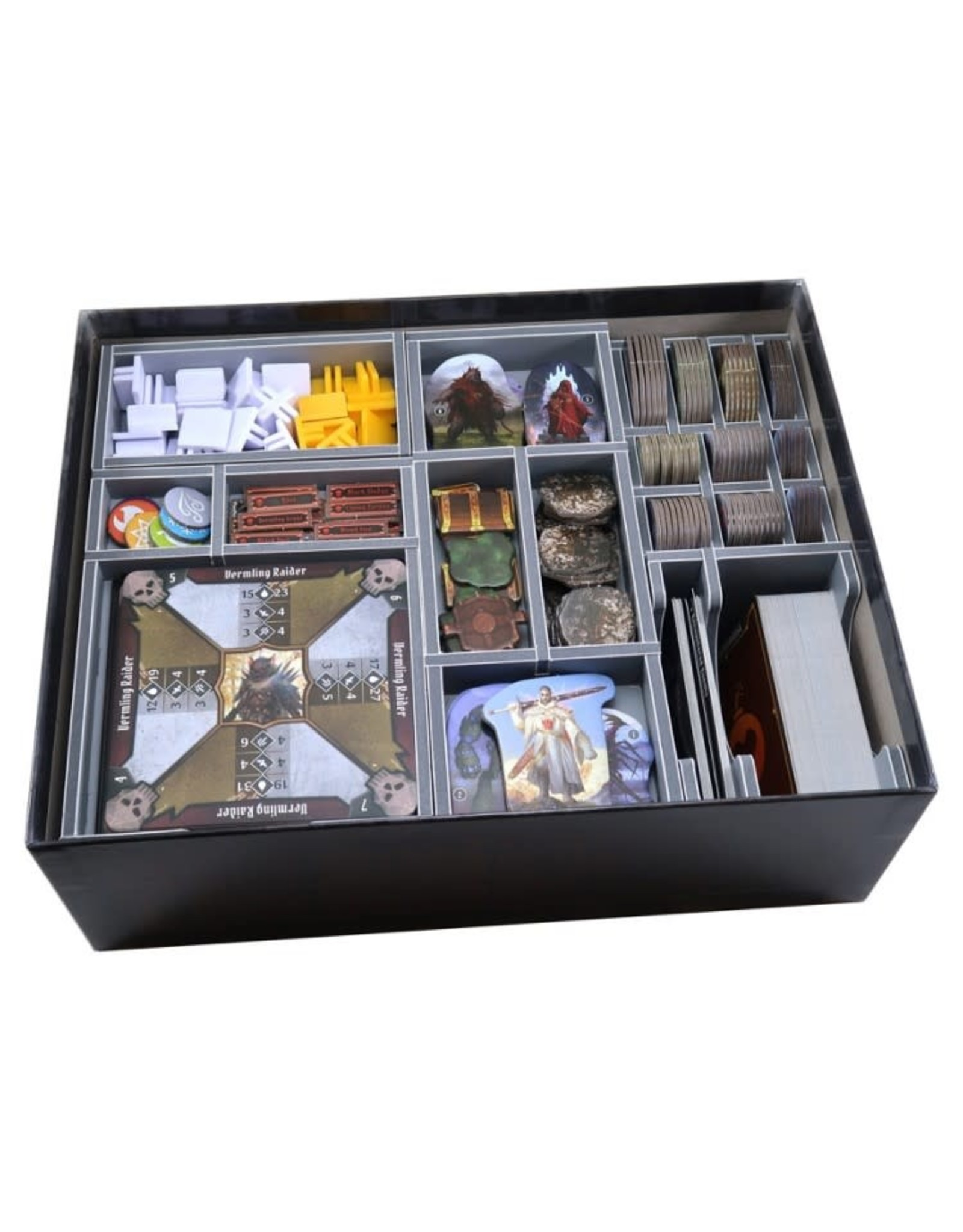 Folded Space Box Insert: Gloomhaven: Jaws of the Lion