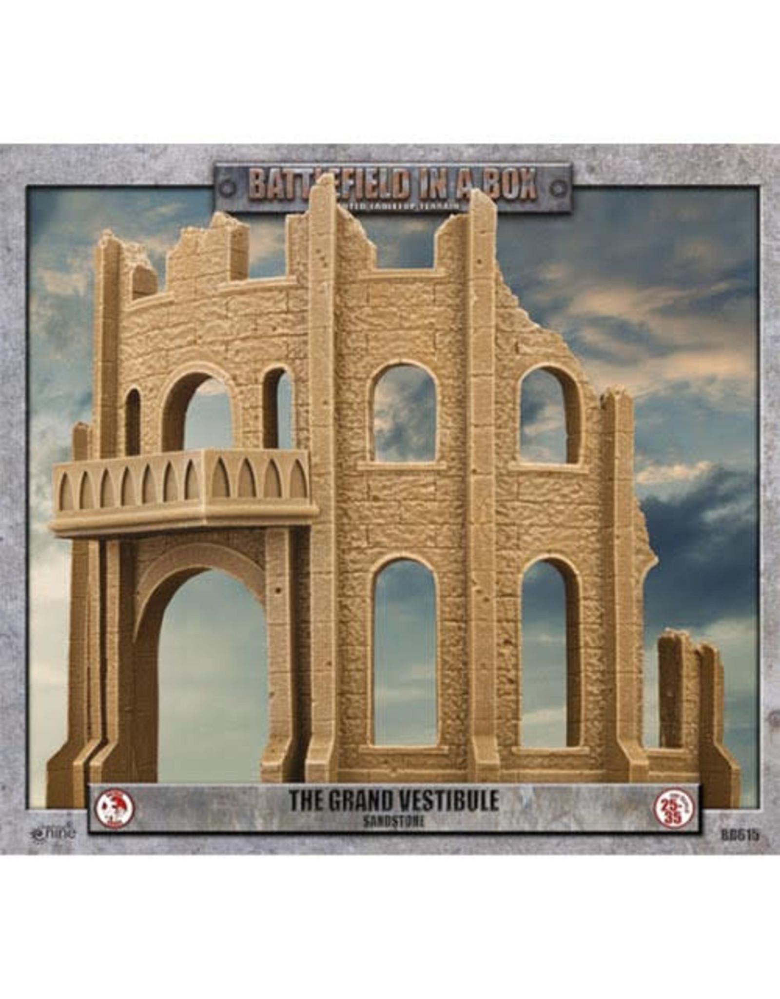Gale Force 9 Gothic Battlefields - The Grand Vestibule - Sandstone (x1) 30mm