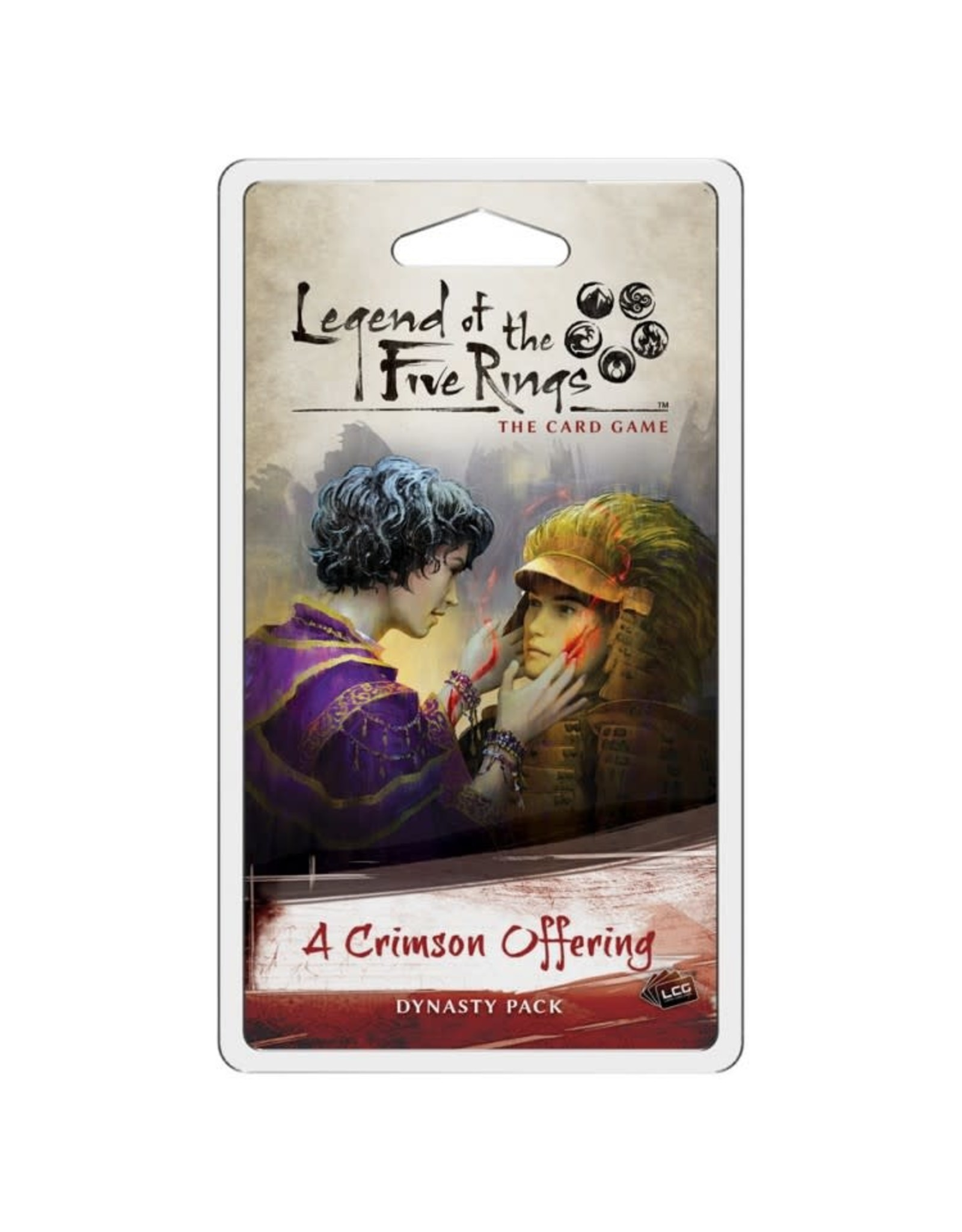 Fantasy Flight Games L5R LCG: A Crimson Offering Dynasty Pack