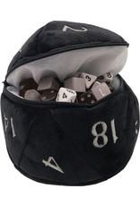 Ultra Pro D20 Plush Dice Bag - Black