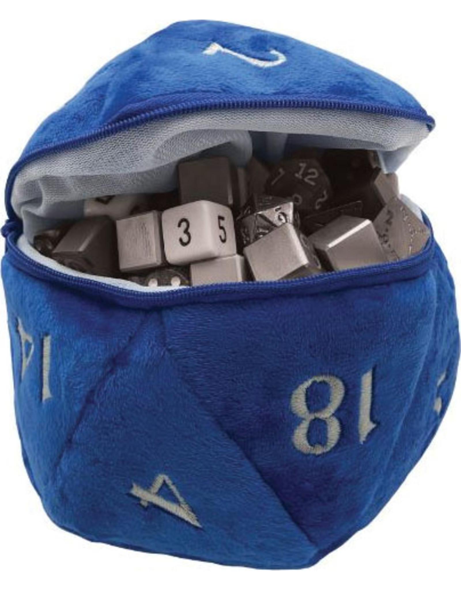 Ultra Pro D20 Plush Dice Bag - Blue