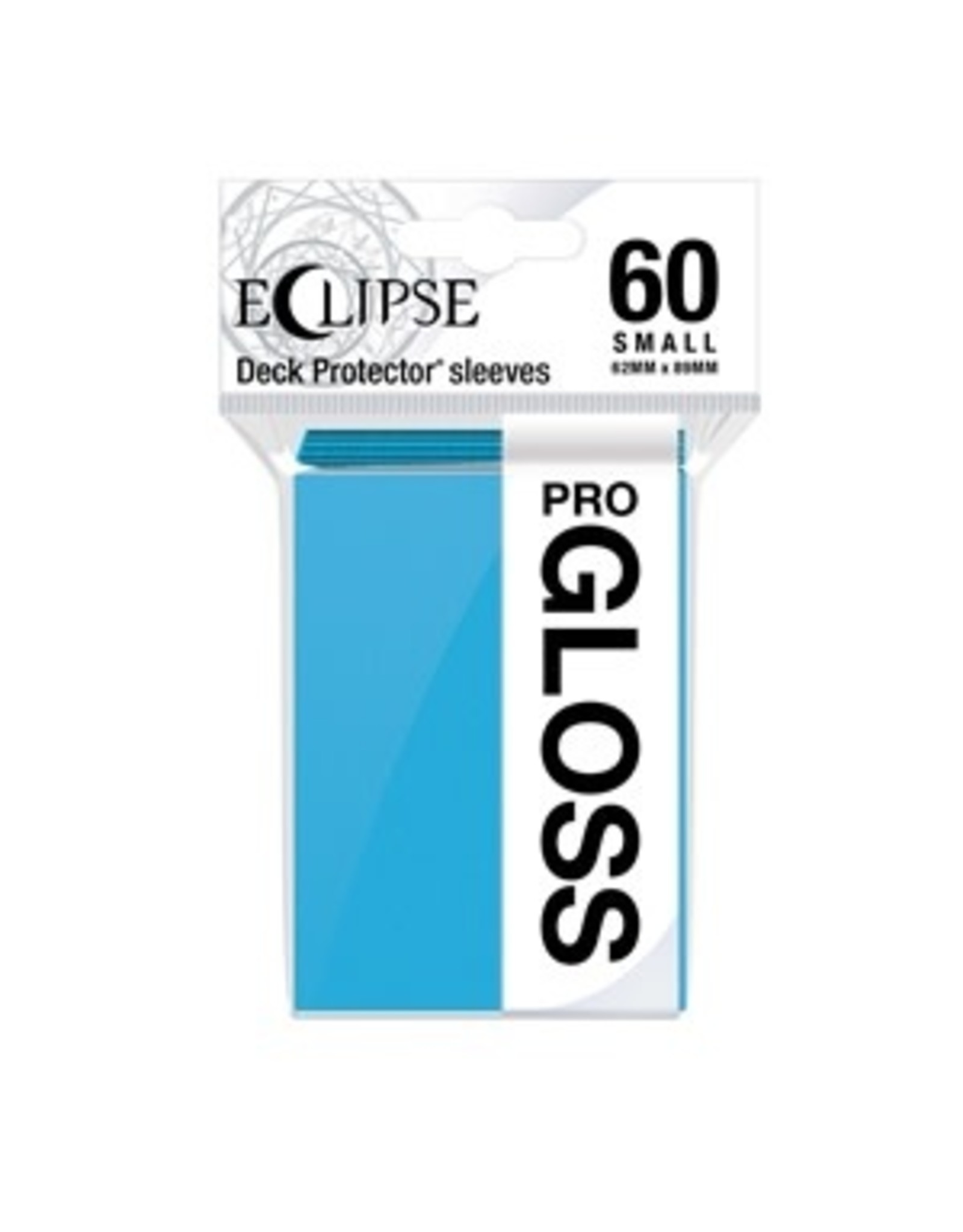 Ultra Pro DP: Eclipse Gloss Small Sleeves: Sky Blue (60)