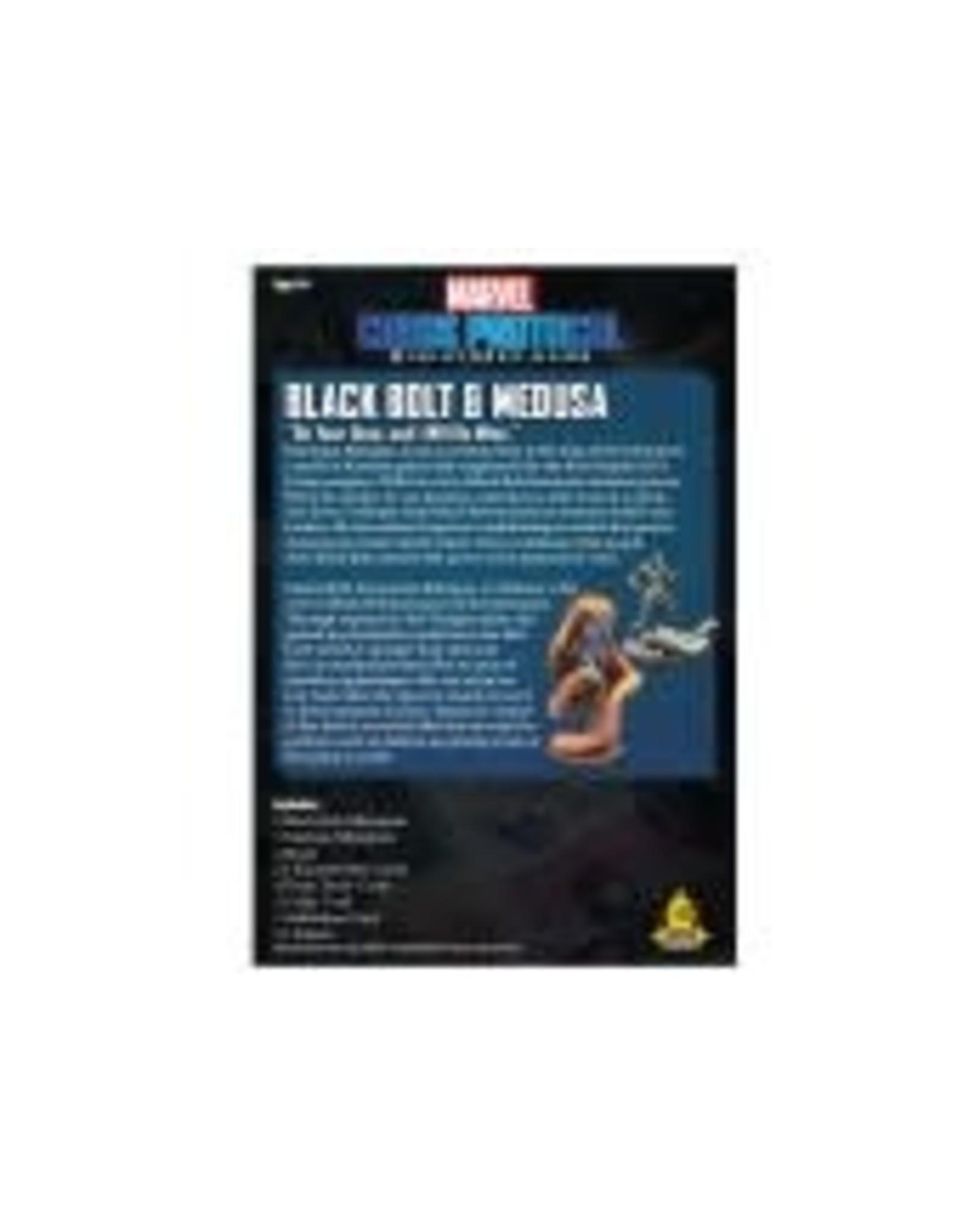 Atomic Mass Games Marvel Crisis Protocol: Black Bolt and Medusa Pack