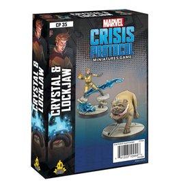 Atomic Mass Games Marvel Crisis Protocol: Crystal & Lockjaw Pack