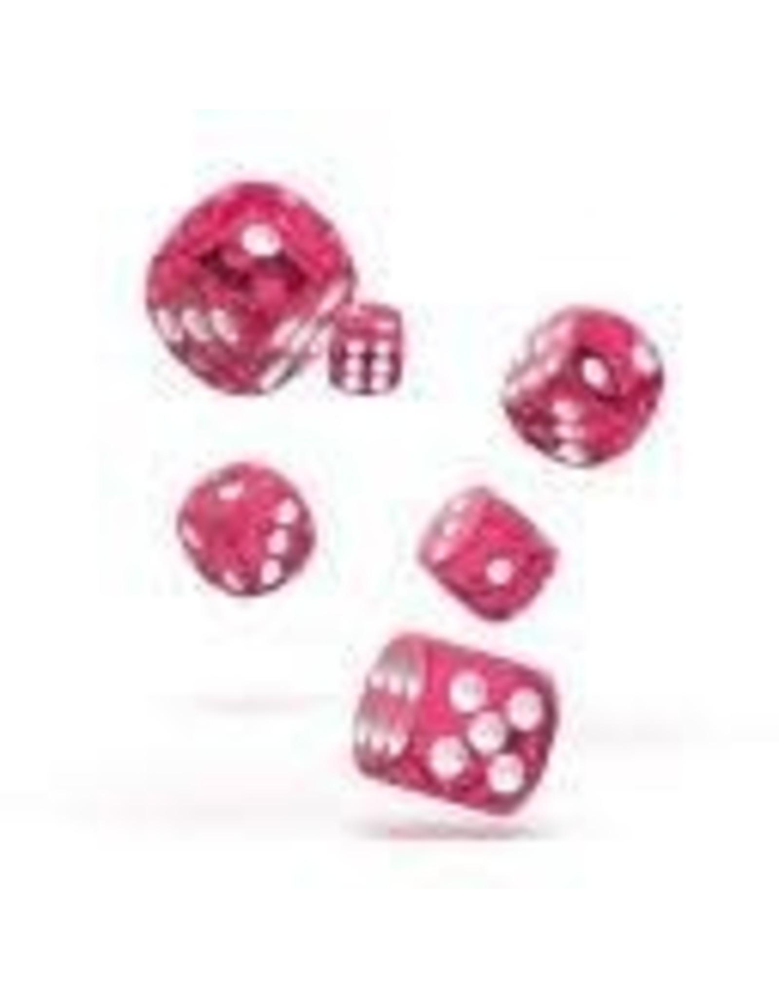 Oakie Doakie Dice C10 OK d6 12mm Speckled Pink