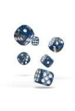 Oakie Doakie Dice E1 OK d6 16mm Gemi Liquid Steel