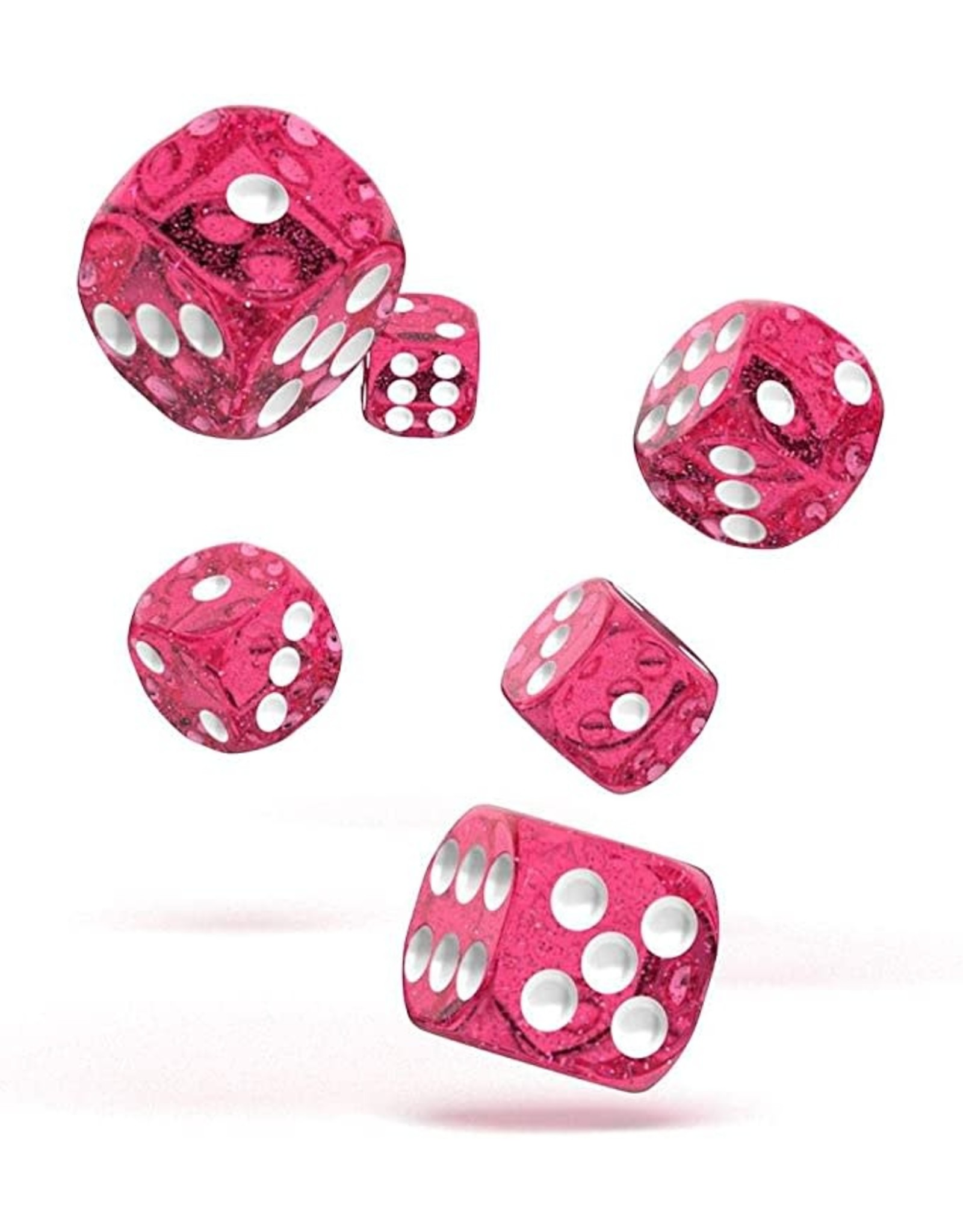 Oakie Doakie Dice G5 OK d6 16mm Speckled Pink