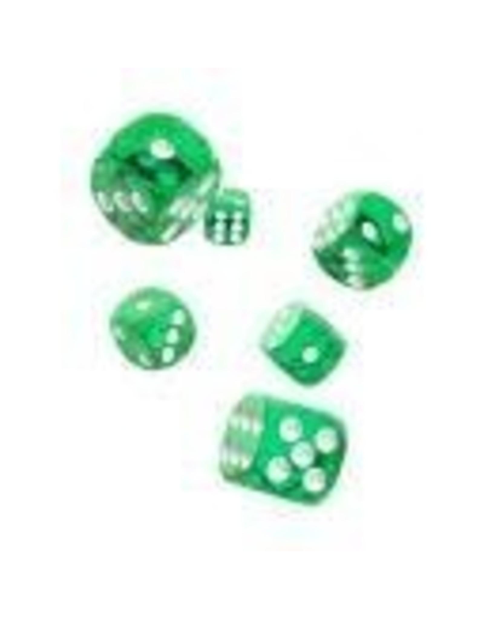 Oakie Doakie Dice G10 OK d6 16mm Translucent Green