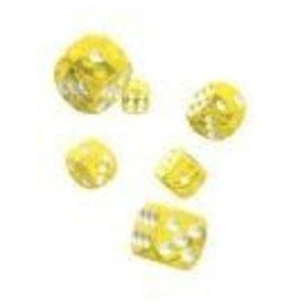 Oakie Doakie Dice G14 OK d6 16mm Translucent Yellow
