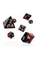 Oakie Doakie Dice I13 OK RPG Set Glow in Dark Lava