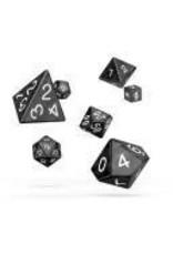 Oakie Doakie Dice I14 OK RPG Set Marble Black