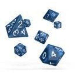 Oakie Doakie Dice J1 OK RPG Set Marble Blue