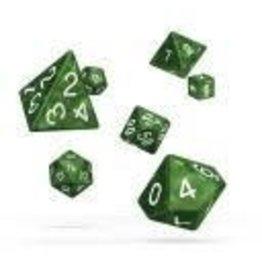 Oakie Doakie Dice J2 OK RPG Set Marble Green