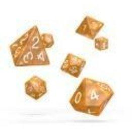 Oakie Doakie Dice J3 OK RPG Set Marble Orange