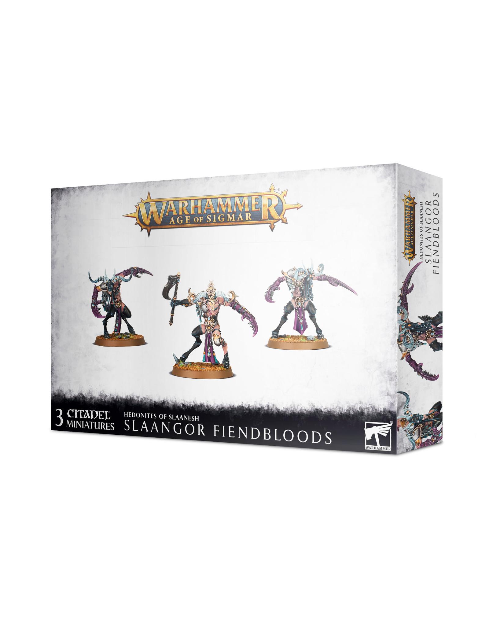 Games Workshop Hedonites: Slaangor Fiendbloods