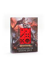 Games Workshop Daughters of Khaine Dice Set