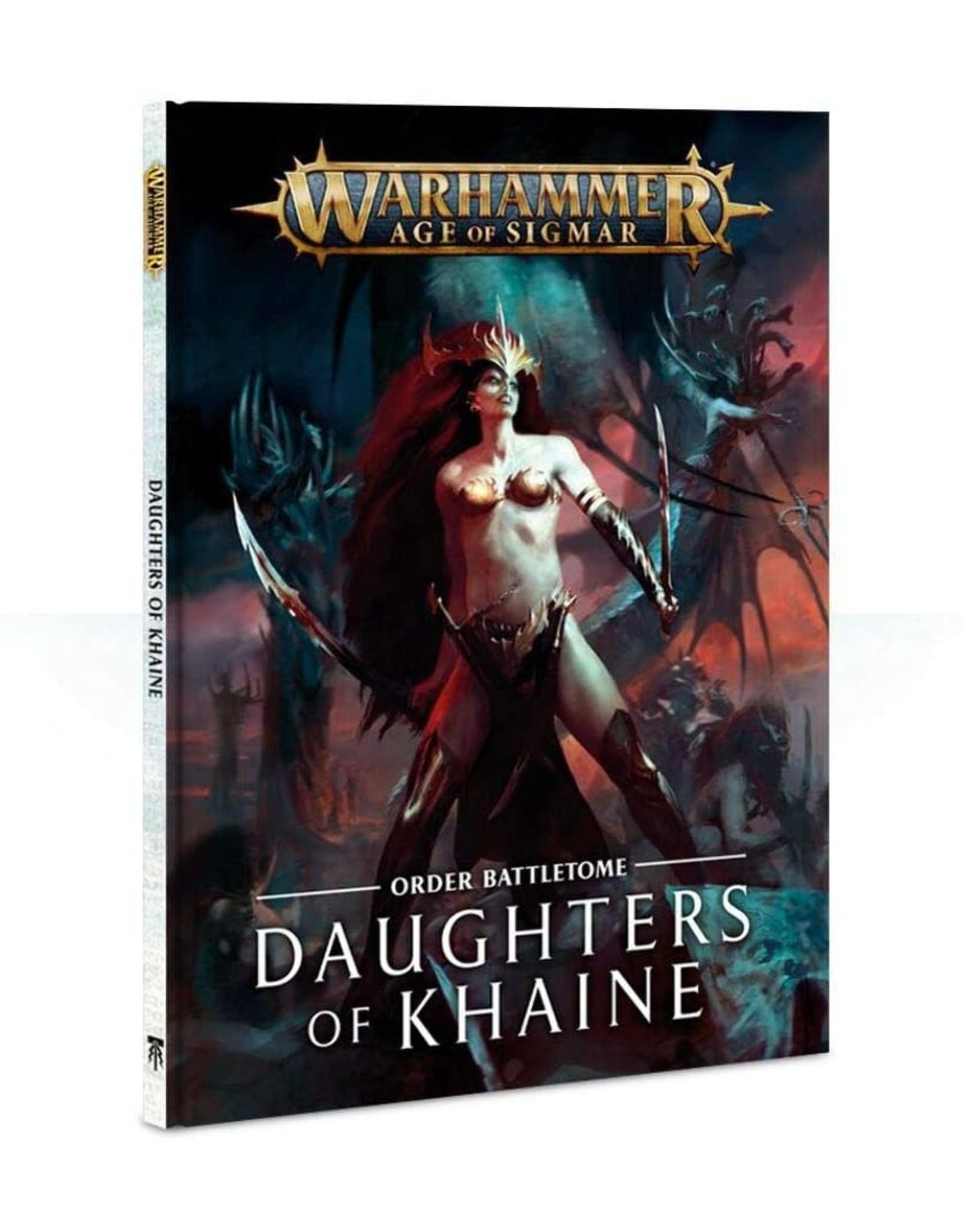 Games Workshop Battletome: Daughters of Khaine