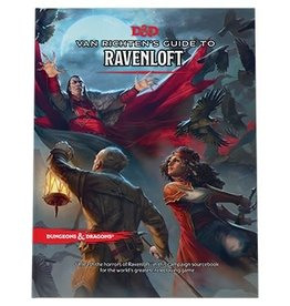 Wizards of the Coast Dungeons and Dragons RPG: Van Richten`s Guide to Ravenloft Hard Cover