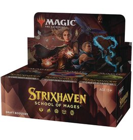 Wizards of the Coast MTG Strixhaven: School of Mages Draft Booster Display