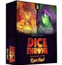 Roxley Game Labs Dice Throne: S1R Pyromancer vs. Shadow Thief