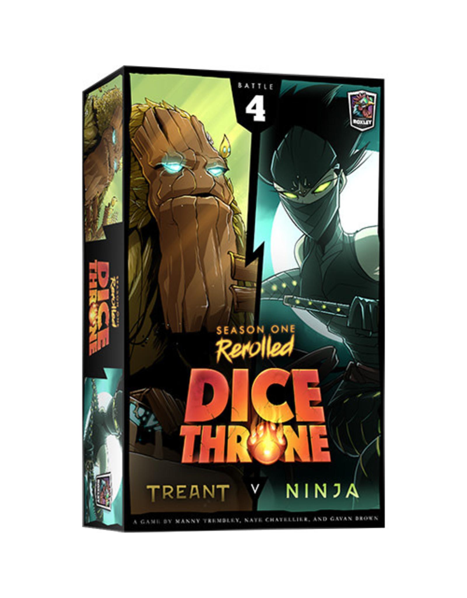 Dice Throne: S1R Treant v Ninja