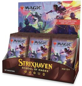 Wizards of the Coast MTG: Strixhaven - School of Mages Set Booster Display