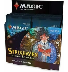 MTG Strixhaven: School of Mages Collector Booster Display