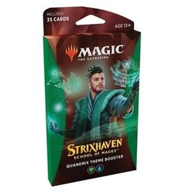 Wizards of the Coast MTG Strixhaven: School of Mages Theme booster - Quandrix