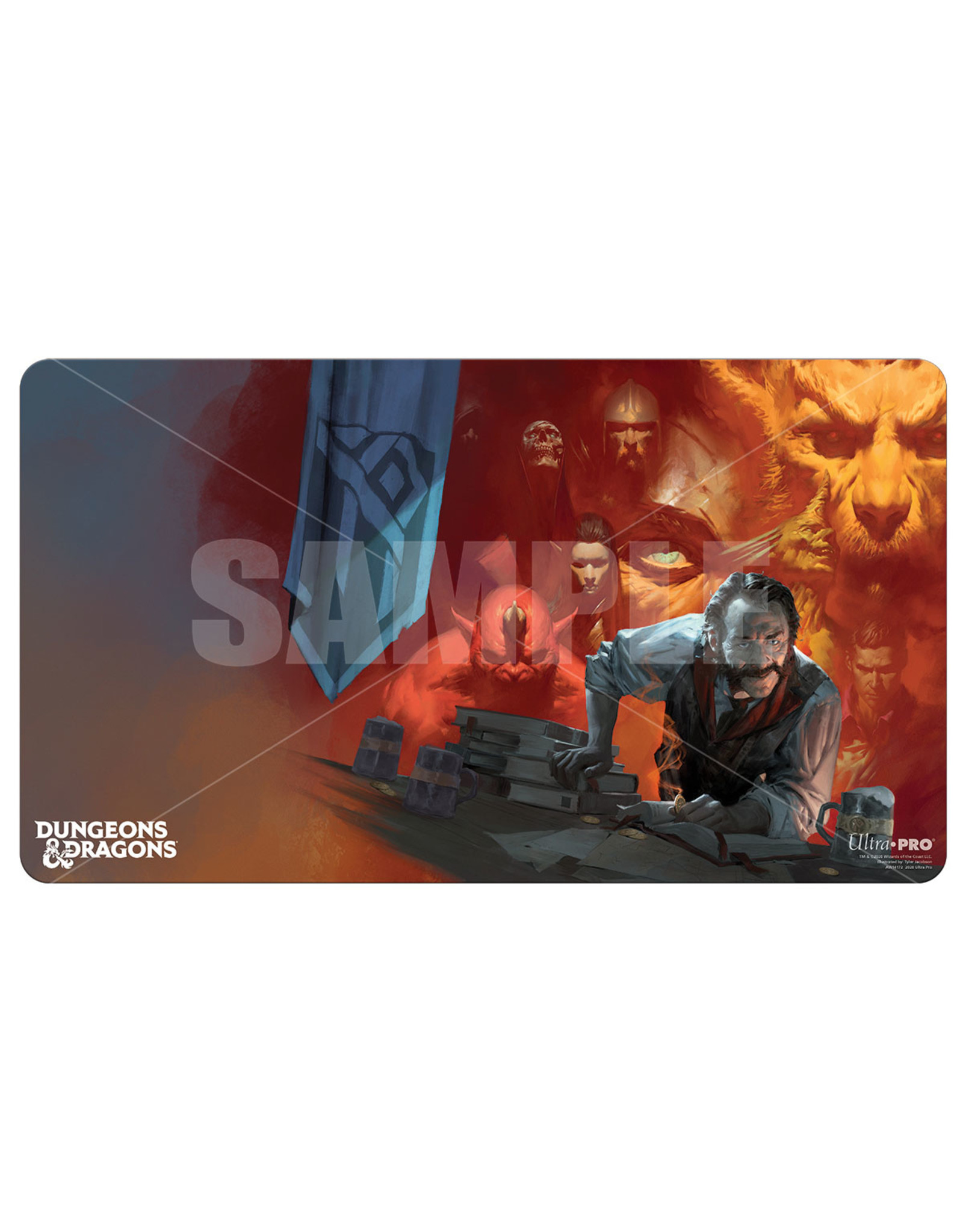 Ultra Pro Dungeons & Dragons: Cover Series Playmat - Tales from the Yawning Portal