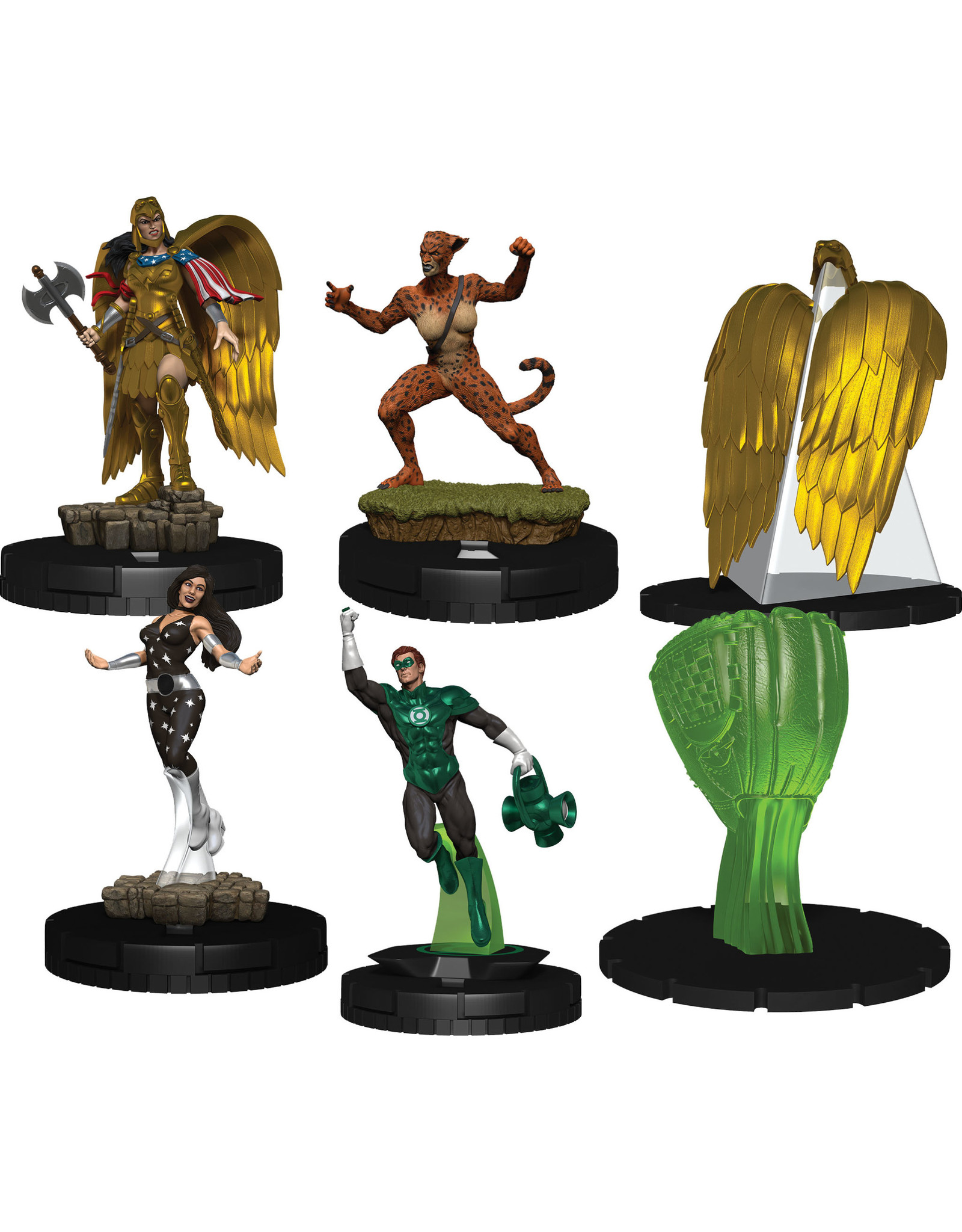 WizKids DC HeroClix: Wonder Woman 80th Anniversary Booster Brick