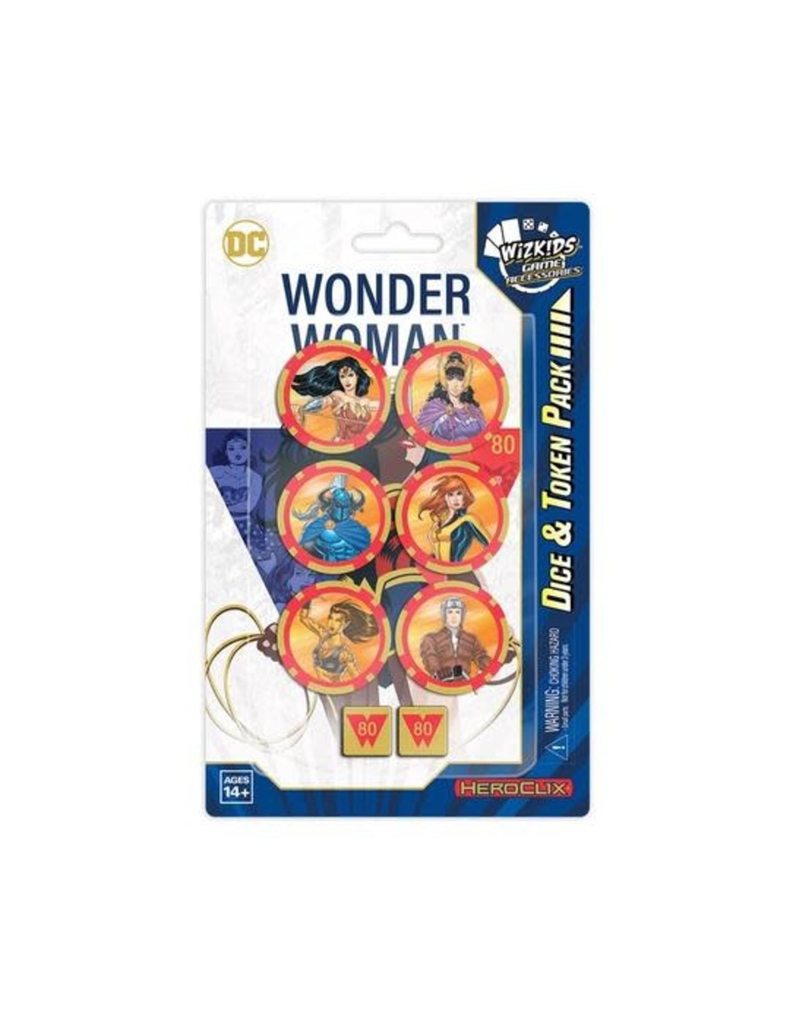 WizKids DC HeroClix: Wonder Woman 80th Anniversary Dice and Token Pack
