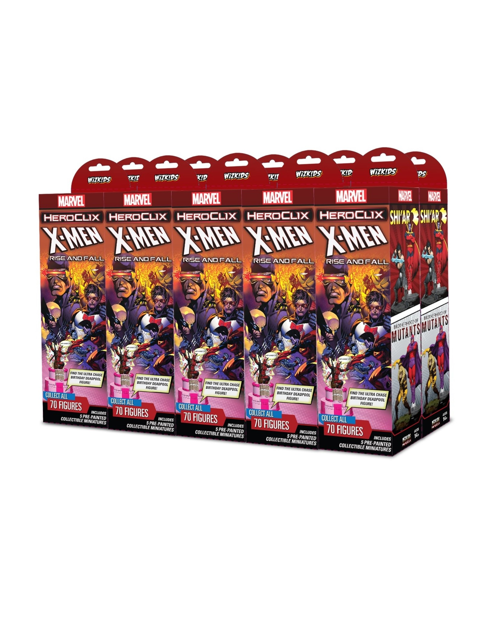 WizKids Marvel HeroClix: X-Men Rise and Fall Booster Brick
