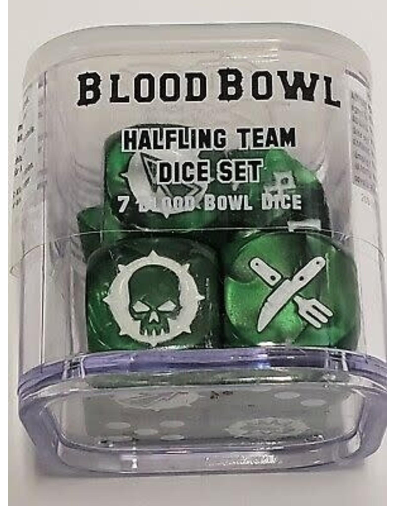 Games Workshop Blood Bowl Halfling Team Dice