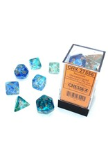 Chessex 7-setCube Luminary NB Oceanic gd