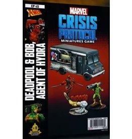 Atomic Mass Games Marvel Crisis Protocol - Deadpool & Bob, Agent of Hydra
