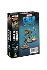 Atomic Mass Games Marvel Crisis Protocol - Cable & Domino