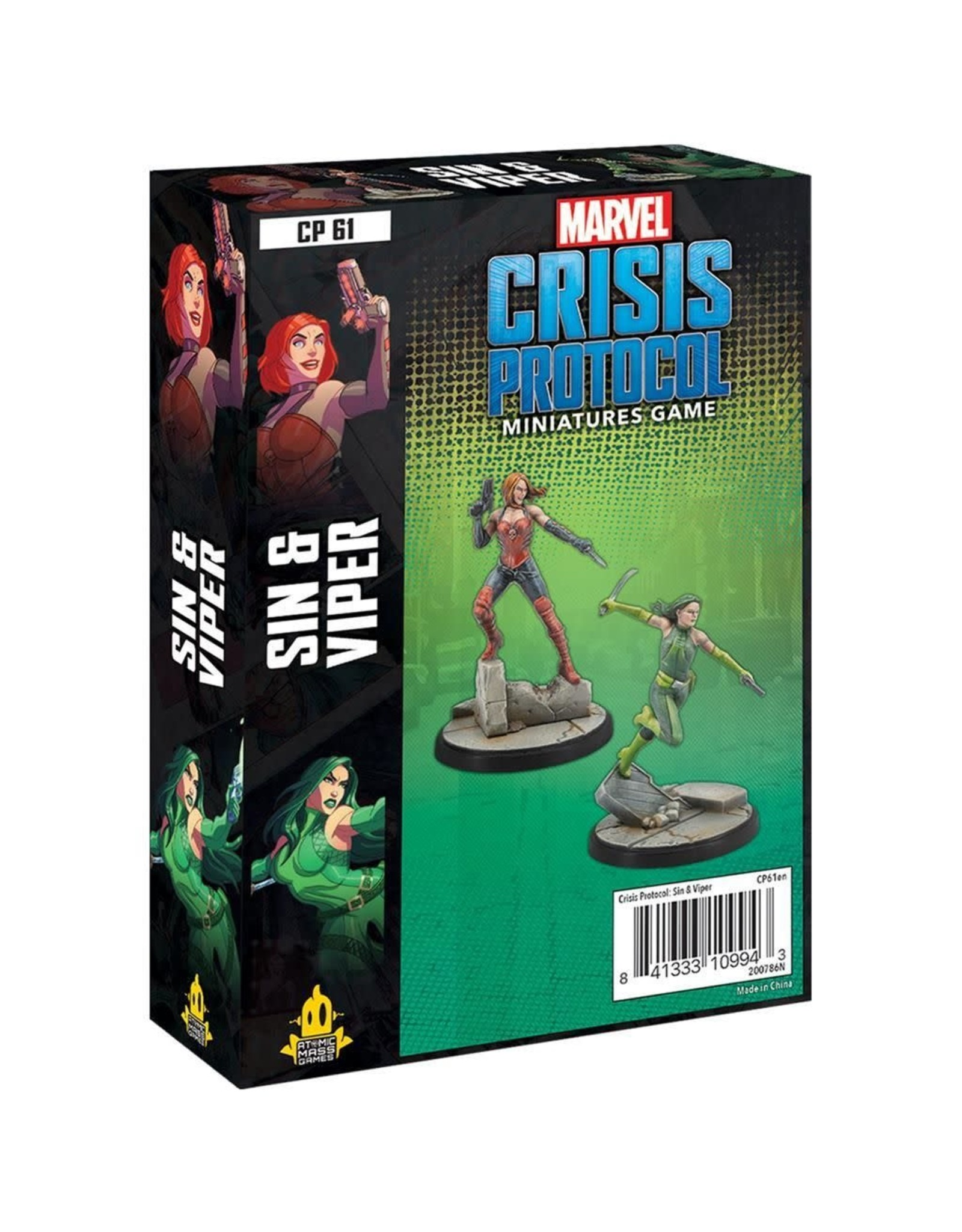 Marvel Marvel Crisis Protocol: Sin and Viper