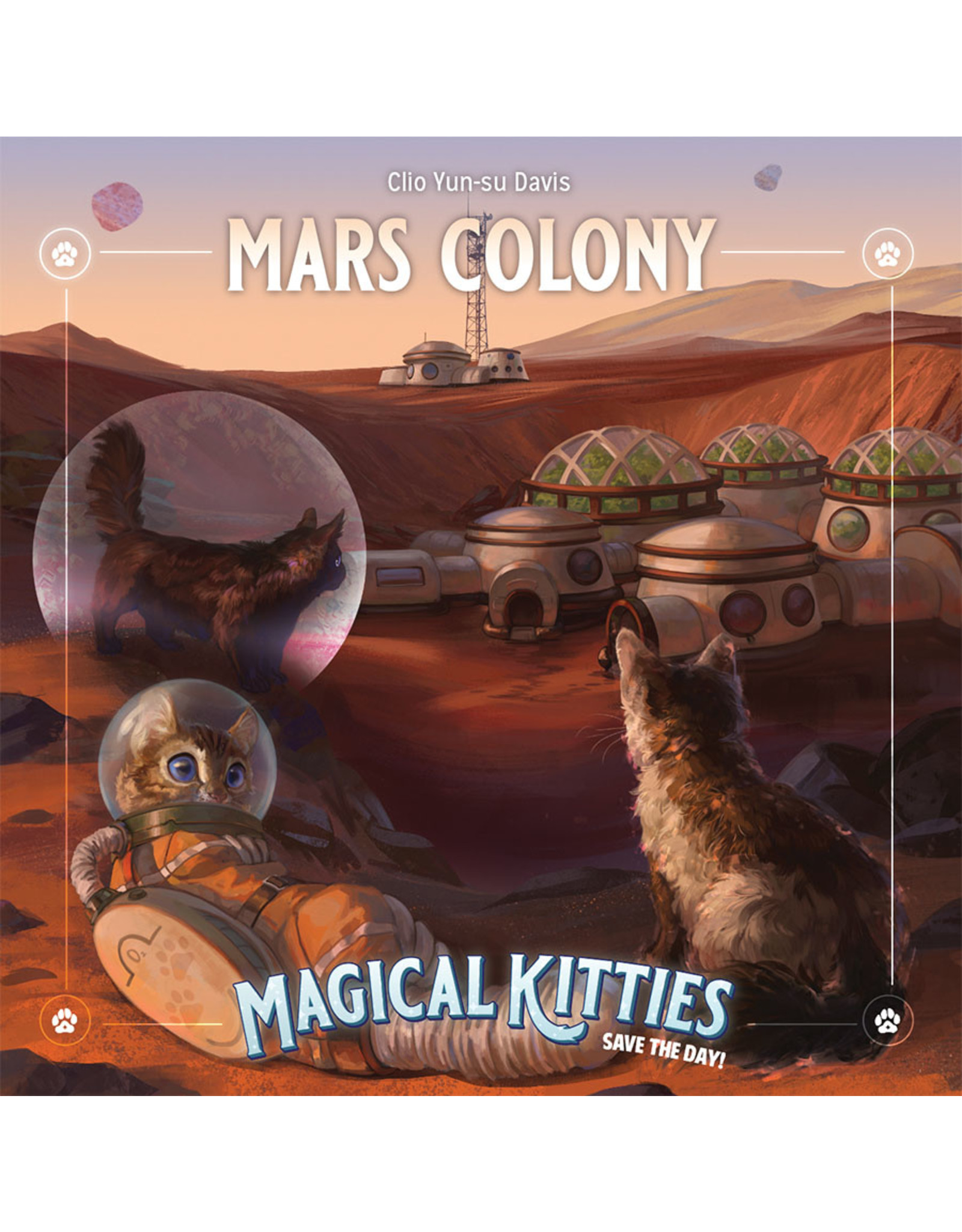 Atlas Games Magical Kitties Save the Day! RPG: Mars Colony