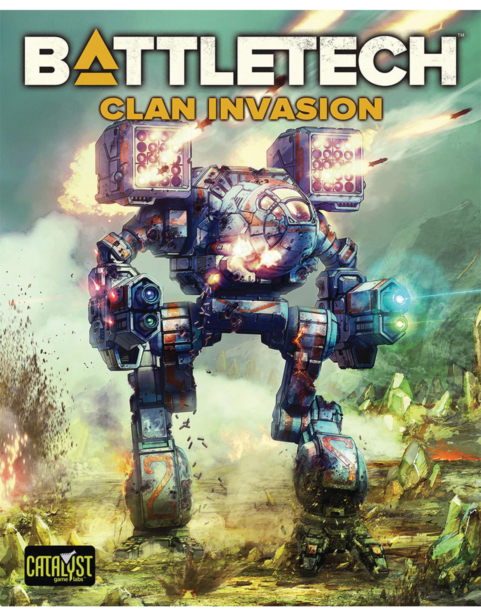 Catalyst Game Labs BattleTech: Clan Invasion
