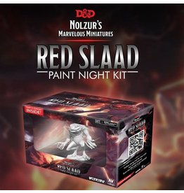 WizKids Dungeons & Dragons Nolzur`s Marvelous Miniatures: Paint Night Kit Red Slaad