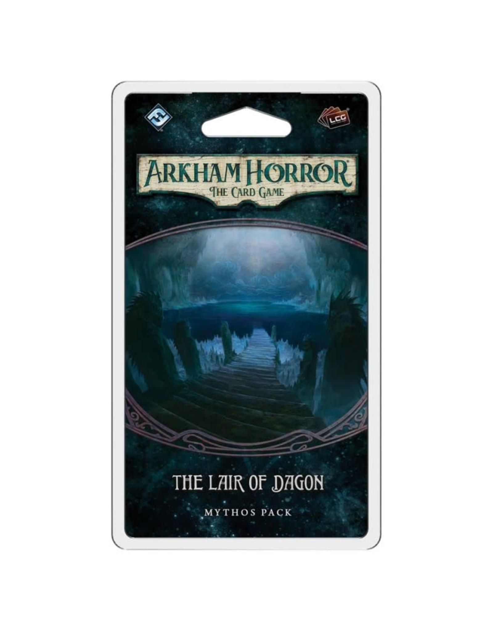 Fantasy Flight Games AH LCG: The Lair of Dagon Mythos Pack