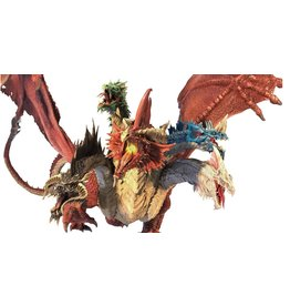 WizKids Dungeons & Dragons Fantasy Miniatures: Icons of the Realms Gargantuan Tiamat