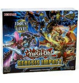 Konami Yu-Gi-Oh Genesis Impact Booster