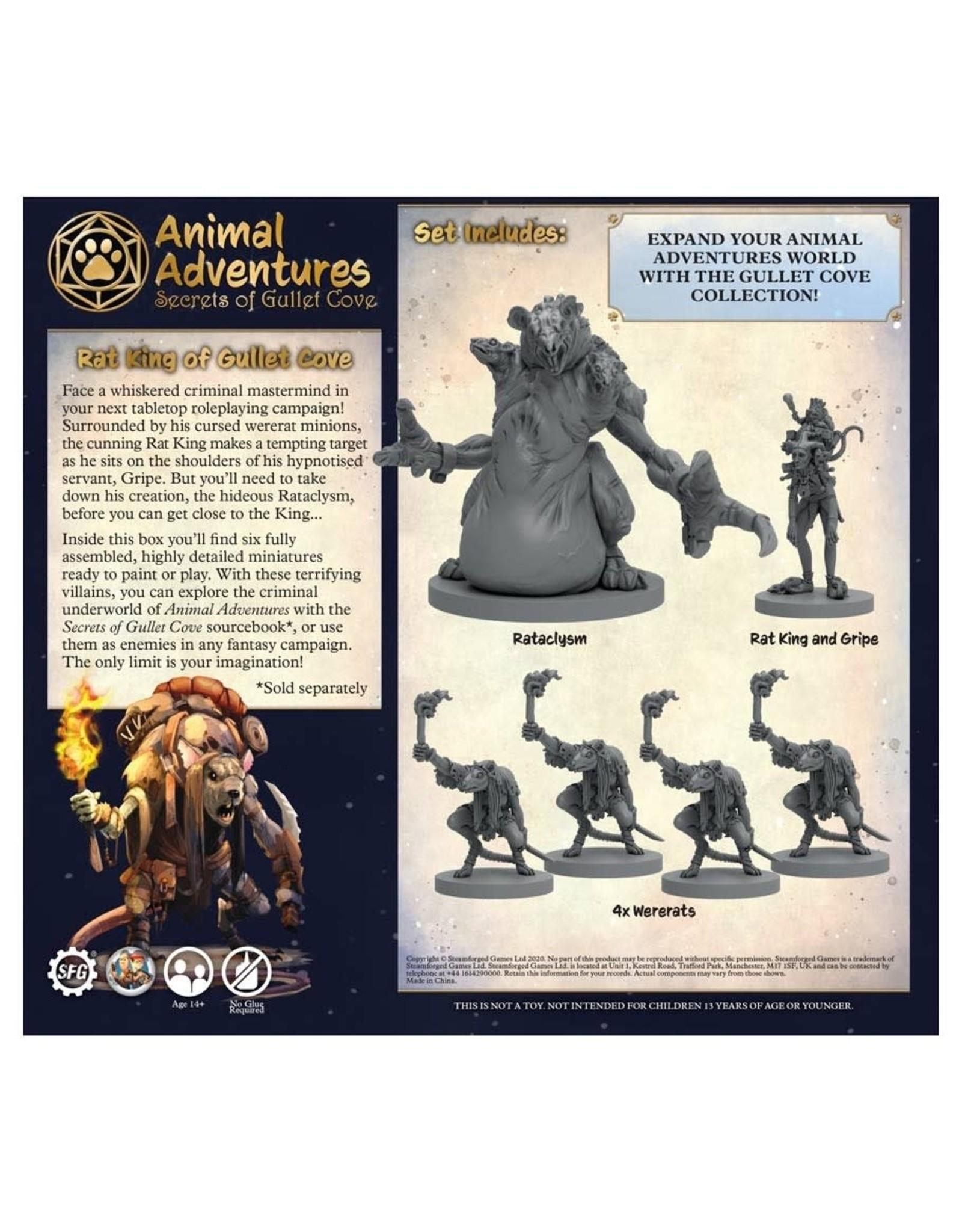 Steamforged Games Animal Adventures: SoGC: Rat King
