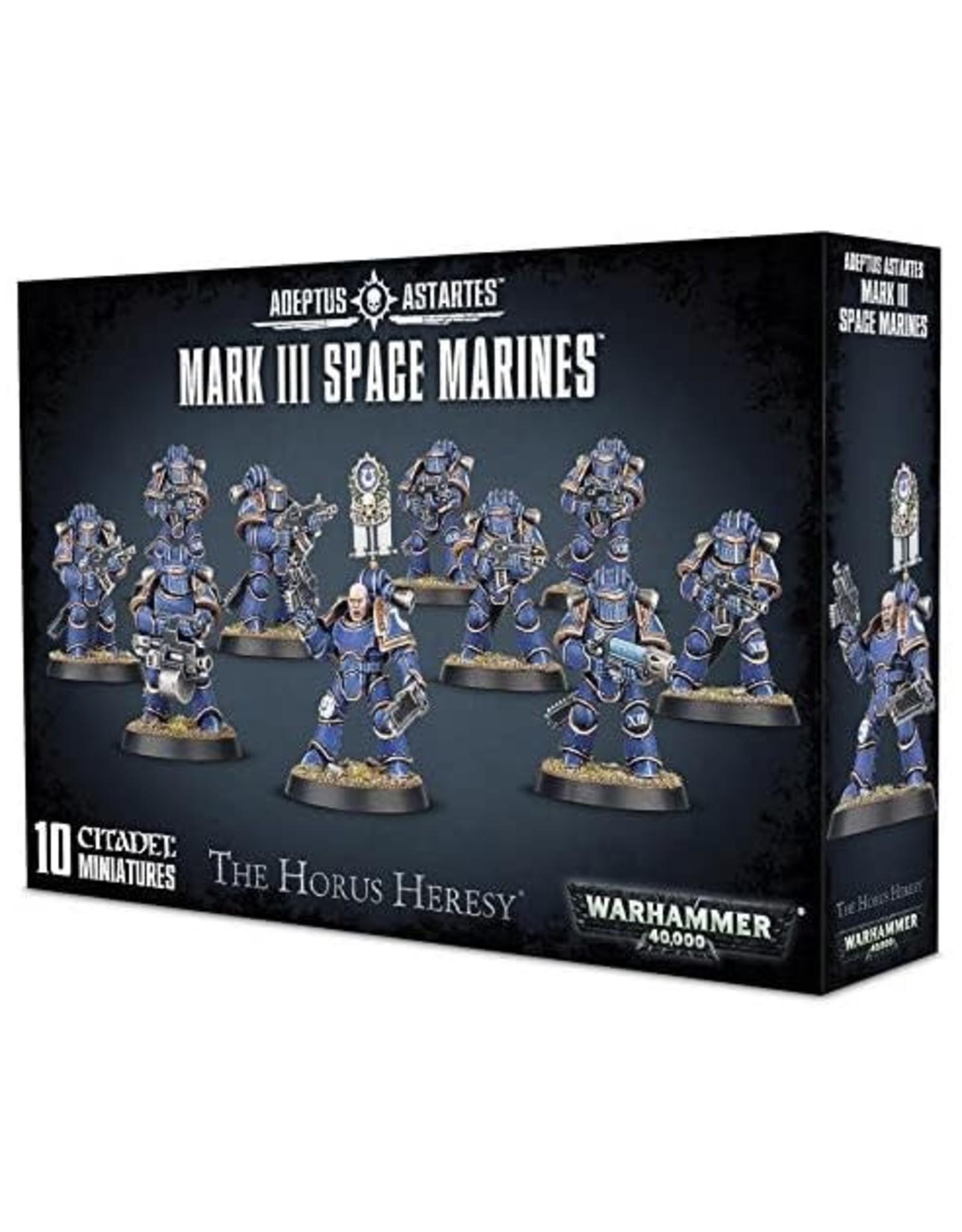 Games Workshop Mark III Space Marines