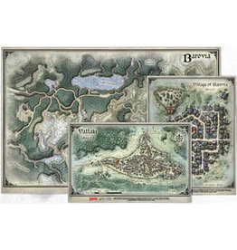 Gale Force 9 D&D MAP Barovia Curse of Strahd
