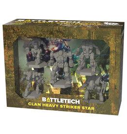 Catalyst Game Labs BattleTech: Miniature Force Pack - Clan Heavy Striker Star