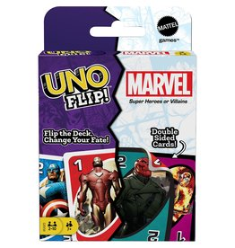Mattel Games UNO: Flip!: Marvel