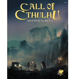 Chaos Publishing Call of Cthulhu: Keeper Screen Pack