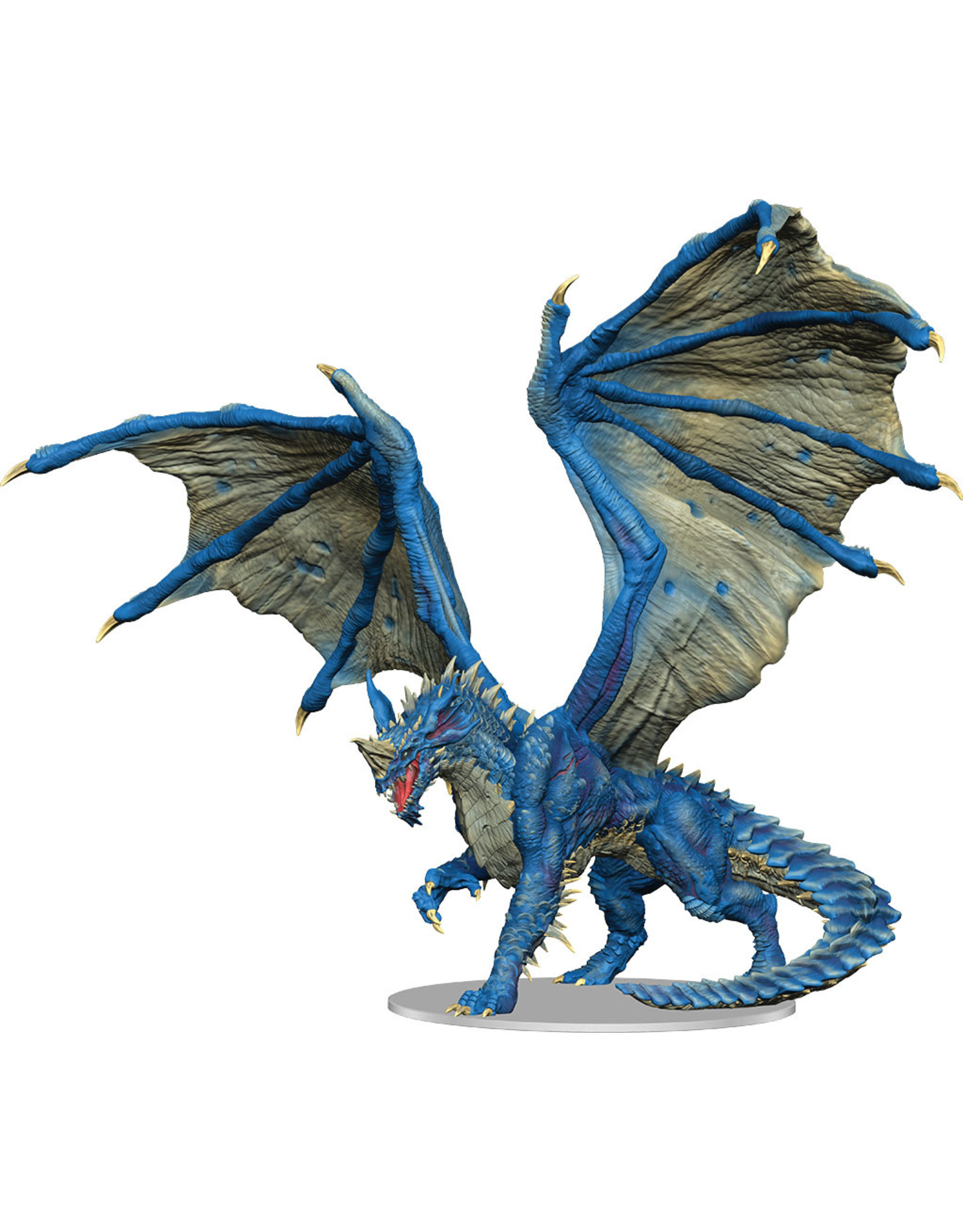 WizKids Dungeons & Dragons Fantasy Miniatures: Icons of the Realms - Adult Blue Dragon Premium Figure